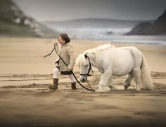 ..walking together... - the picture from my workshop in Ireland Foto por Elena Shumilova