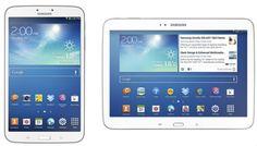 Adicional al Galaxy Tab 3 de 7 pulgadas que ya conocemos desde hace un tiempo, Samsung presenta los nuevos tablets Galaxy Tab 3 de 8 y 10.1 pulgadas  http://gabatek.com/2013/06/03/tecnologia/samsung-galaxy-tab-3-8-10-1-nuevos-tablets-samsung/