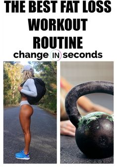 The Best Fat Loss Workout Routine Ever! Get our Printable FREE PDF. The Best Fat Loss Workout Routine Ever! Get our Printable FREE PDF. For massive toning, health and wellness and weight loss, do the kettlebell workout. Kettlebell Swings, Crossfit Kettlebell, Kettlebell Challenge, Workout Challenge, Losing Weight Tips, How To Lose Weight Fast, Dieta Fitness, Health Fitness, Health Goals