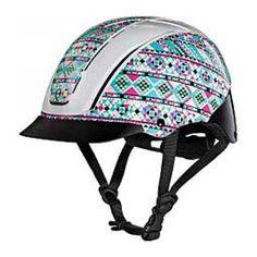 Spirit 2017 Traditional AP Horse Riding Helmet - Prints Kaleidoscope - Item # 43890