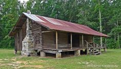 Sullivan Cabin at Wagarville, AL (built 1874, listed on the ...