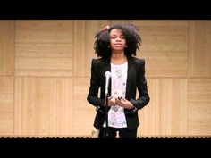 Maya Penn speaking at TEDx Youth Makes and sells eco-friendly clothling etc. and donates a portion of her sales....neat video to watch.