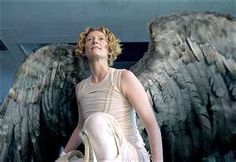Tilda Swinton as the Angel Gabriel in Constantine
