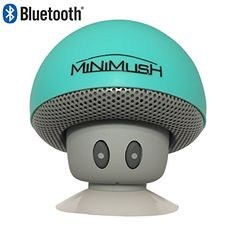Mini Bluetooth Speaker - Fun Shockproof Cartoon Mushroom with LED Display Lighting and Wireless Integrated Mic for Calls - Ideal for your iphone 6, Apple Ipad, HTC and Samsung Phone (Green) MiniMush http://www.amazon.com/dp/B01962DE5K/ref=cm_sw_r_pi_dp_NVvNwb16YDSKQ