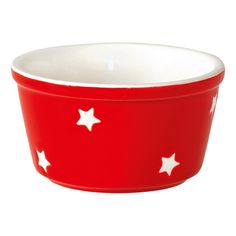 GreenGate Oven Ramekin Red With Stars D 10,5 cm | NEW! GreenGate Autumn/Winter 2014 | Originated-Shop