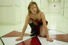 Mila Jovovich as Alice in Resident Evil