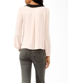Tiered Collar Blouse   FOREVER21 - 2017307559