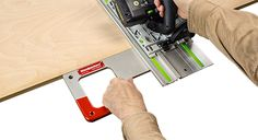 Introducing our newest OneTIME Tool, the Track Square!  Squaring your Track Saw Guide Rail just got whole lot easier! With Woodpeckers latest OneTIME Tool, called Track Square, reliable square cuts are quick and easy. It's really just a matter of marking your cut location, positioning the guide rail and sawing. Deadline to place your order is Monday, April 4, 2016.  www.woodpeck.com/tracksquare.html