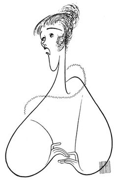 Julie Andrews has been drawn more times than any other performer — a staggering 54 times, from her 1955 Broadway debut in The Boyfriend to her 1995 Broadway turn in Victor/Victoria. Hirschfeld drew her one last time in 2002, just before he died, for a composite of performers who have appeared on PBS' Great Performances.courtesy of the Al Hirschfeld Foundation