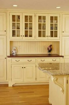 built in kitchen cabinets hutch - Google Search