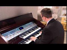 NEW Lowrey Fanfare home organ - 2014 demonstration DVD