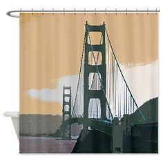 Sold today: #GoldenGateBridge #Shower Curtain #JAMFoto #Cafepress.com