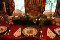 Decorations. Traditional Thanksgiving Decoration With Box Centerpiece Feature Greenery With Candle Centerpiece Idea.