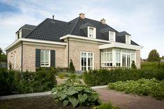 Huis - gebouwd met de kesseltse klampsteen baksteen van steenfabriek Nelissen