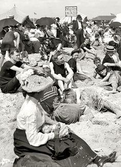 Coney Island, New York, circa 1904.