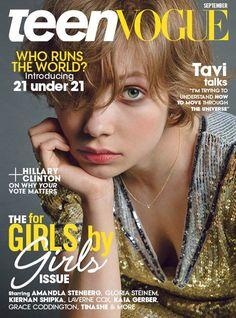 Inez and Vinoodh Photograph Tavi Gevinson for Teen Vogue's September Cover (Forum Buzz)