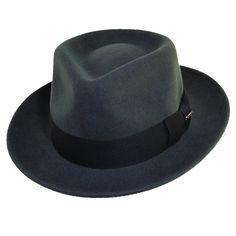e53f41010a3 BeltOutlet.com - Dorfman Pacific Mens Crushable Wool Felt Fedora Hat Cool  Hats