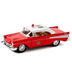 Voiture Chevrolet Bel Air Pompier - Les jouets et jeux éducatifs - Tante Suzie