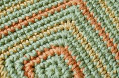 Seeing Squares Crochet Dishcloth Pattern   Petals to PicotsPetals to Picots