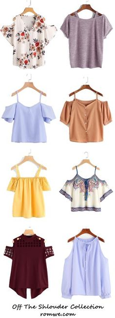 Sexy & Chic Off The Shoulder Tops - romwe.com