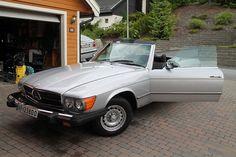 Mercedes-Benz SL 450  1976, 65200 km, kr 98000,- -