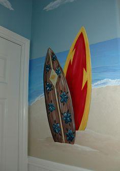 Bath room :D love this for my beach theme bathroom