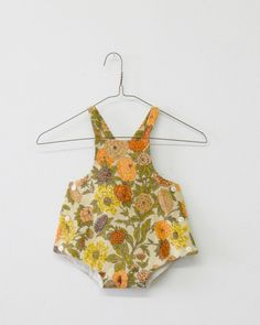 sunsuit - botanical - Wolfechild