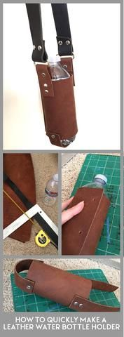 Guide to Making a Leather Water Bottle Holder