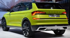 The particularly sustainable drive concept of the FlexGreen-painted urban crossover study features an impressive combination of a CNG (Co. Electrical Energy, Combustion Engine, Energy Storage, Four Wheel Drive, Electric Power, Rear Seat, Concept Cars, Crossover, Cars And Motorcycles