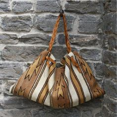 Native American Purses & Bags | Native American rug folded into pursess - see others at link :)