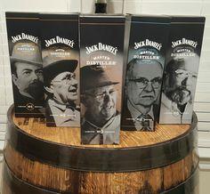 All 5 Master Distillers Bottles of Jack Daniel's Rye Bourbon, Scotch Whiskey, Jack Daniels Wallpaper, Whiskey Girl, Jack Daniels Whiskey, Jack Black, Tequila, Whisky, Liquor