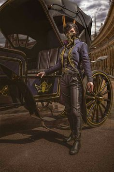 Cosplayer: Maja Felicitas Photographer: eosAndy Character: Emily Kaldwin From: Dishonored 2 Country: Germany