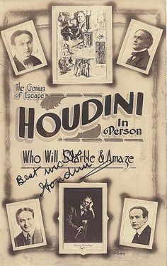 Houdini - Yahoo Image Search Results