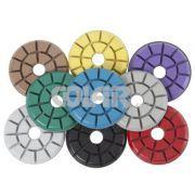 Disco Polimento Granite - Design especial removem risco superficiais e fazem o polimentos de pisos em pedras ornamentais, especialmente em mármores e granitos. www.colar.com