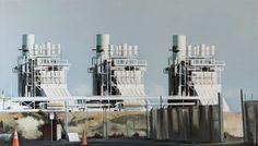 """HEIDI McDOWELL, Power,  2012, oil on canvas, 34"""" x 60"""""""