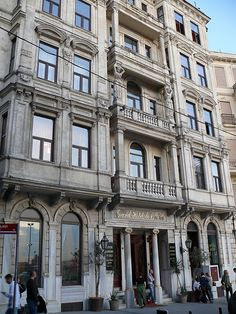 The Grand Hotel de Londres (Grand London Hotel, Büyük Londra Oteli), is one of Istanbul's two remaining late 19th-century European-style hotels in the Tepebasi district