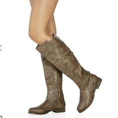 New Rustic boots Brand new Boutique  Shoes Winter & Rain Boots
