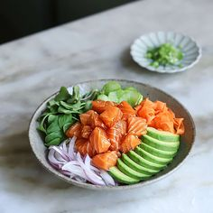 Diet Recipes, Cooking Recipes, My Sushi, Salad, Mood, Dinner, Kitchen, Dining, Salads