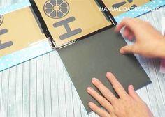 caja-explosiva-paso-a-paso-de-cumpleaños Gifts, Diy, Cactus, Scrap, Gift Ideas, Chocolate, Halloween, Logos, Crochet