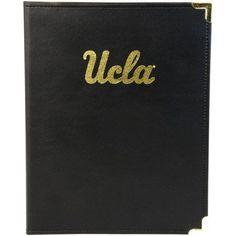 Classic Padfolio with University of Ucla Logo, Multicolor