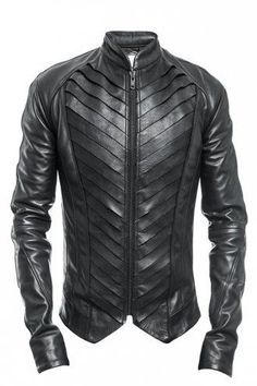 Hot and Edgy Street Wear for the Young Urban Male. Delusion Splice Leather Jacke… Hot and Edgy Street Wear for the Young Urban Male. Revival Clothing, Stylish Mens Fashion, Mens Black Clothing Fashion, Trendy Clothing, Trendy Outfits, Jackett, Leather Men, Custom Leather, Biker Leather