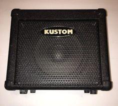#Kustom KBA10 #Electric #BassGuitar #Amp #Amplifier Equipment Tested Music Gear  | eBay