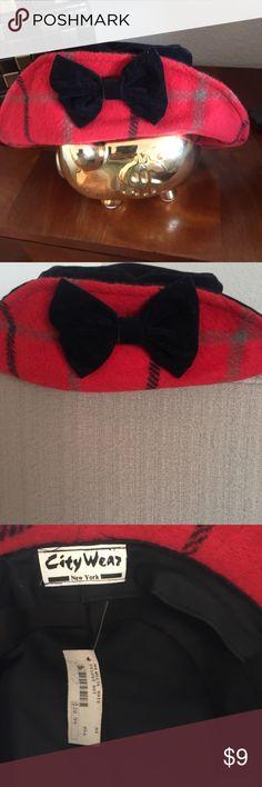 Hat Red fun hat city wear Accessories Hats
