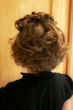 Girly Do's By Jenn: Ideas For Short Hair--- #3