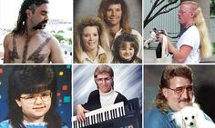 Hilarious throwback pics capture heinous examples of the retro mullet
