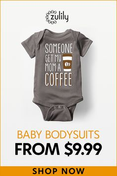 Sign up to shop funny baby bodysuits starting at $9.99. Keep your little one looking oh-so adorable in this super soft baby bodysuit boasting a whimsical design and convenient bottom snaps to make diaper changes a breeze. Shop newborn and infant sizes.
