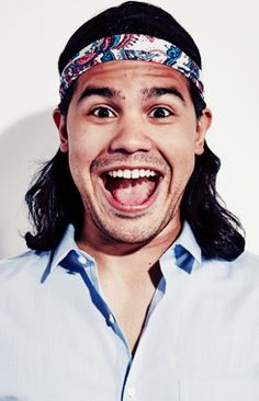 Carlos Valdes - Cisco Ramon from the Flash. One of the funniest characters I the history of TV.