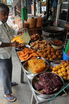 Street Food Vendor - Penang, Malaysia