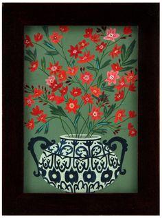 Red Flowers, Becca Stadtlander $200
