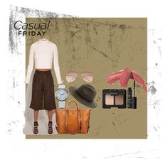 """""""Casual Friday"""" by dkslife on Polyvore featuring NARS Cosmetics, Elizabeth Arden, NLY Accessories, H&M and Sole Society"""